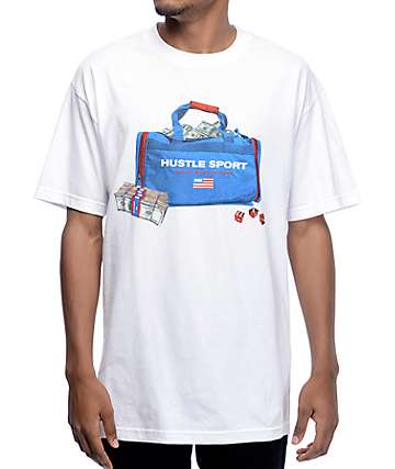 DGK Travel Bag White T-Shirt