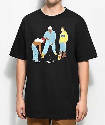 DGK Trips camiseta negra