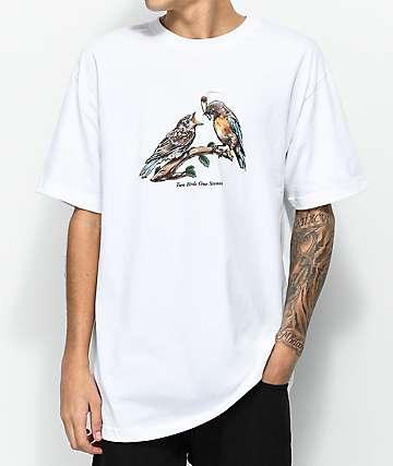 DGK Two Birds camiseta blanca