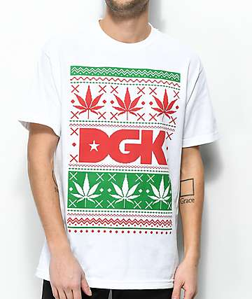DGK Ugly Sweater White T-Shirt