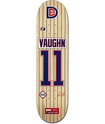 """DGK Vaughn Draft Picks 7.8"""" Skateboard Deck"""