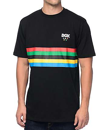 DGK Versus The World Black T-Shirt