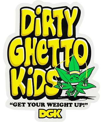 DGK Weight Sticker