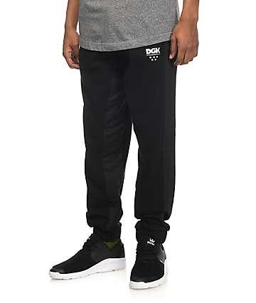 DGK pantalones deportivos en negro