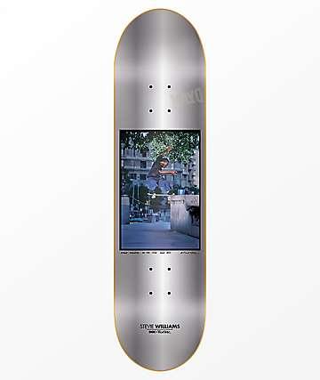 """DGK x Blabac 8.06"""" tabla de skate en color plateado"""