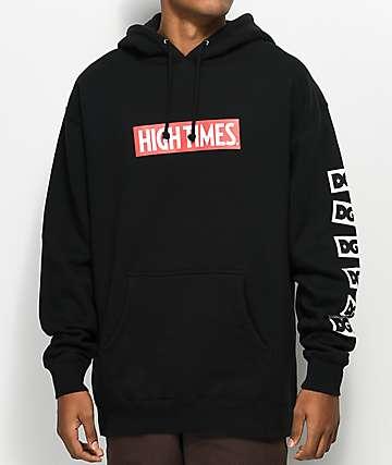DGK x High Times Black Hoodie