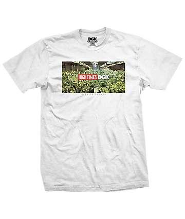 DGK x High Times Grow Room camiseta blanca