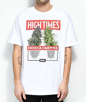 DGK x High Times Options camiseta blanca