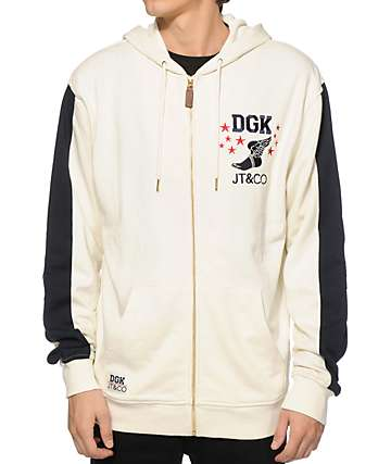 DGK x JT & CO Timeless Zip Up Hoodie