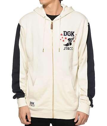 DGK x JT & CO Timeless Zip Up Hoodie