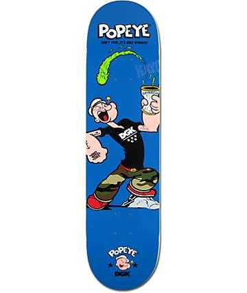 """DGK x Popeye 8.0"""" Skateboard Deck"""