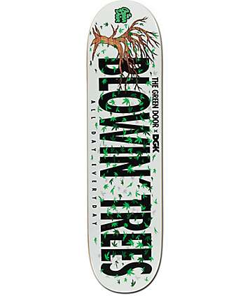 "DGK x The Green Door Blowin Trees 8.06""  Skateboard Deck"