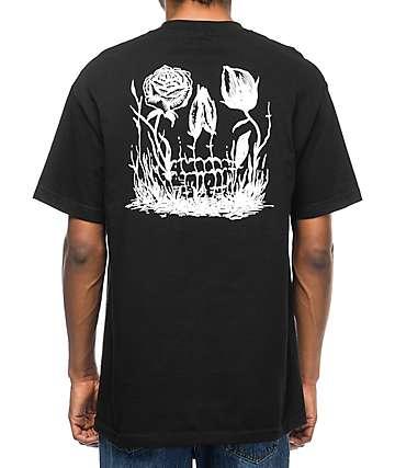 DROPOUT CLUB INTL Nafis Etemadi Black T-Shirt