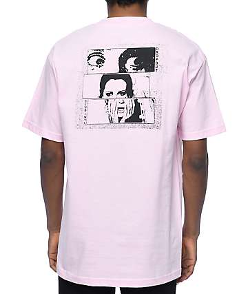 DROPOUT CLUB INTL x BOW3RY Scream Pink T-Shirt