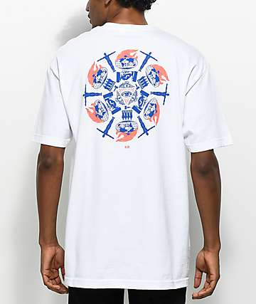 DROPOUT CLUB INTL. Never Made White T-Shirt