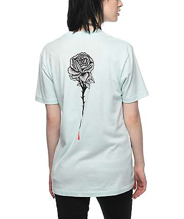 DROPOUT CLUB INTL. Rose Blue T-Shirt