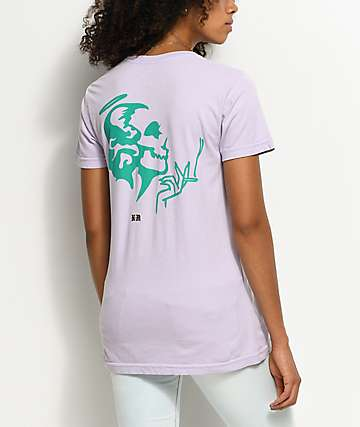 DROPOUT CLUB INTL. Violent Delights camiseta en color lavanda