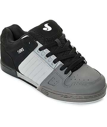 DVS Celsius Black, Grey & Charcoal Skate Shoes