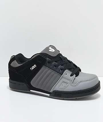DVS Celsius zapatos de skate en color carbón, gris y negro
