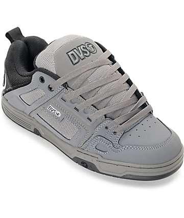 DVS Comanche zapatos de skate en blanco, negro y gris