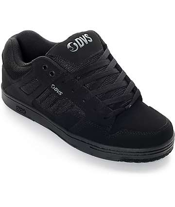 DVS Enduro 125 Black Nubuck Skate Shoes