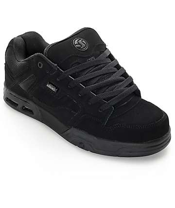 DVS Enduro Heir Black Nubuck Skate Shoes