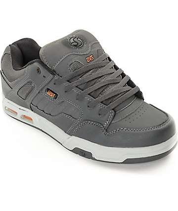 DVS Enduro Heir Grey & Orange Skate Shoes