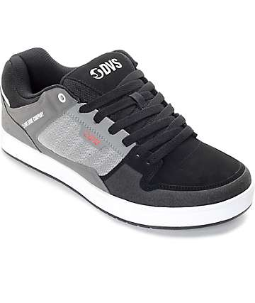 DVS Portal Charcoal & Grey Nubuck Skate Shoes