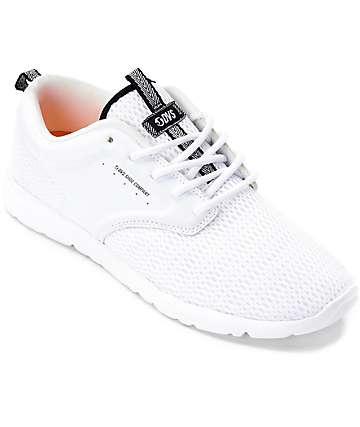 DVS Premier 2.0 zapatos de malla blanca
