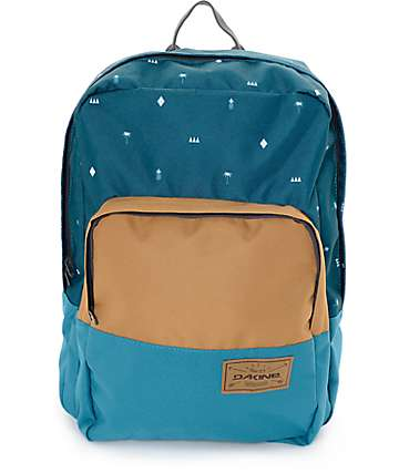 Dakine Capitol Palmapple Heather Green 23L Backpack