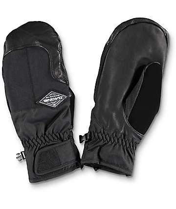 Dakine Charger Black Snowboard Mittens