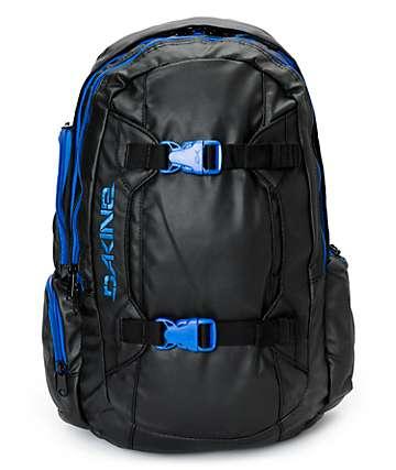Dakine Mission 25L Blackout & Blue Backpack