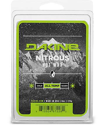 Dakine Nitrous All Temperature Hot Snowboard Wax