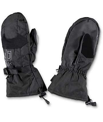Dakine Scout Black Snowboard Mittens