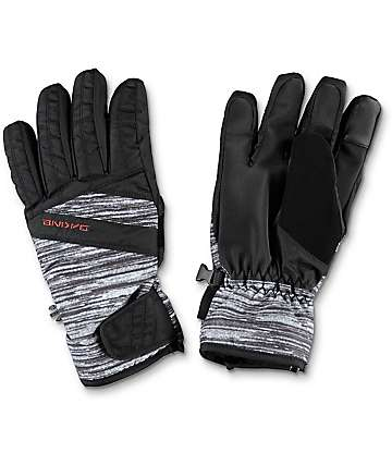 Dakine Sienna Lizzie Black & White Snow Gloves