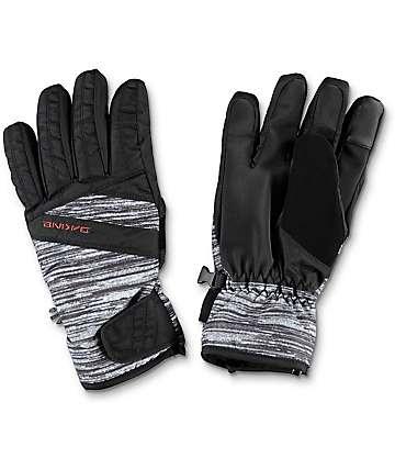 Dakine Sienna Lizzie guantes para nieve en blanco y negro