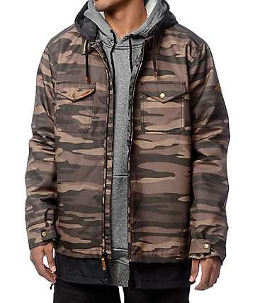 Dakine Sutherland Camo 2K Snowboard Jacket