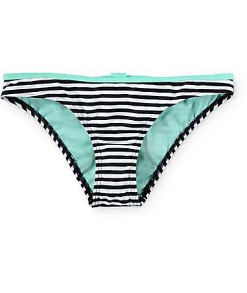 Damsel Bow Stripe Hipster Bikini Bottom