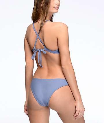Damsel Cheeky bottom de bikini en gris