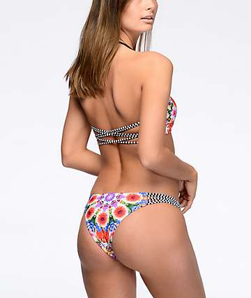 Damsel Secret Garden Floral Super Cheeky bottom de bikini