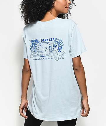 Dark Seas All Day Pearl Blue T-Shirt