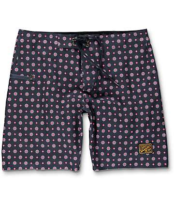Dark Seas Blackwall board shorts en azul marino