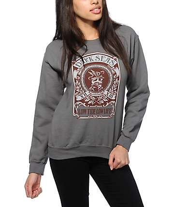 Dark Seas Captain Grimb Crew Neck Sweatshirt