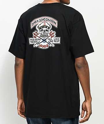 Dark Seas Cut Above Black T-Shirt