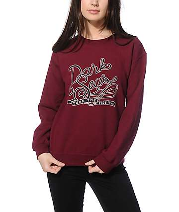 Dark Seas Dean Crew Neck Sweatshirt