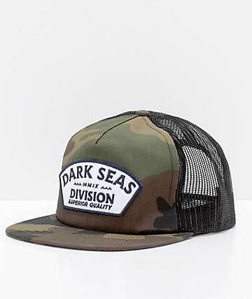 Dark Seas Duane gorra trucker camuflada