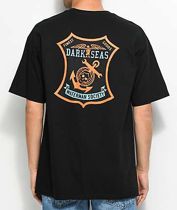 Dark Seas Finest camiseta negra