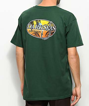 Dark Seas Good Days Forest Green T-Shirt