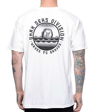 Dark Seas Graven II White T-Shirt