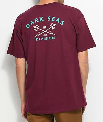 Dark Seas Headmaster Burgundy T-Shirt